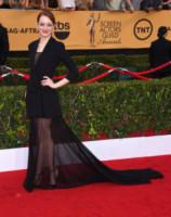 Emma Stone - Los Angeles - 26-01-2015 - Emma Stone ha già vinto l'Oscar dell'eleganza!