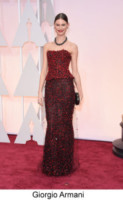 Behati Prinsloo - Hollywood - 22-02-2015 - Oscar 2015: tutti gli stilisti sul red carpet