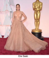 Jennifer Lopez - Hollywood - 22-02-2015 - Oscar 2015: tutti gli stilisti sul red carpet