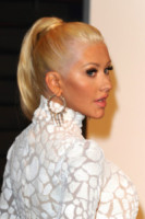Christina Aguilera - West Hollywood - 22-02-2015 - Oscar 2015: le dive scelgono gioielli preziosi e… vistosi!