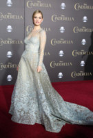 Lily James - Hollywood - 01-03-2015 - Lily James: i look da fiaba della nuova Cenerentola