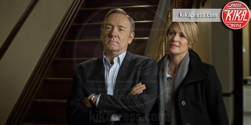 House of cards, Robin Wright, Kevin Spacey - Washington - 23-08-2016 - L'addio (inquietante) di Robin Wright ad House of Cards