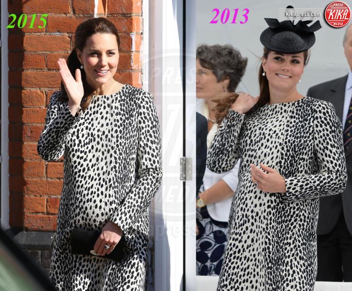 Kate Middleton - 11-03-2015 - Kate e il riciclo: quel Matthew Williamson l'ha già indossato!