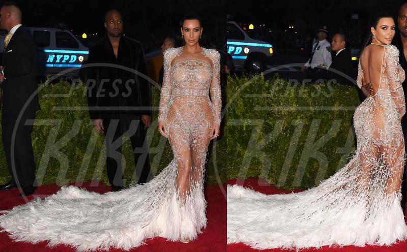 Kim Kardashian - 05-05-2015 - Met Gala 2015: Vade retro abito! Le star scelgono il nude look