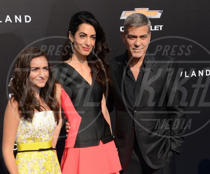 Mia Alamuddin, Amal Alamuddin, George Clooney - Los Angeles - 09-05-2015 - Clooney-Alamuddin: siamo già una famiglia…allargata