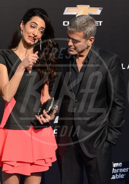 Amal Alamuddin, George Clooney - Los Angeles - 09-05-2015 - Clooney-Alamuddin: siamo già una famiglia…allargata