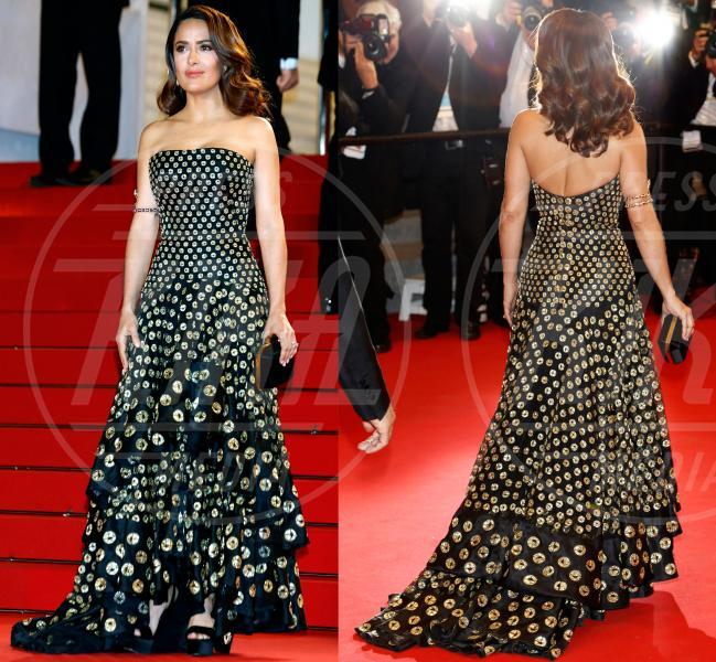 Salma Hayek - Cannes - 15-05-2015 - Cannes 2015: Vade retro abito! Le scelte delle star