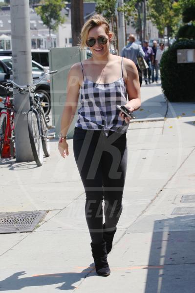 Hilary Duff - Los Angeles - 04-08-2014 - Fashion revival: dagli anni '60 tornano i quadretti Vichy