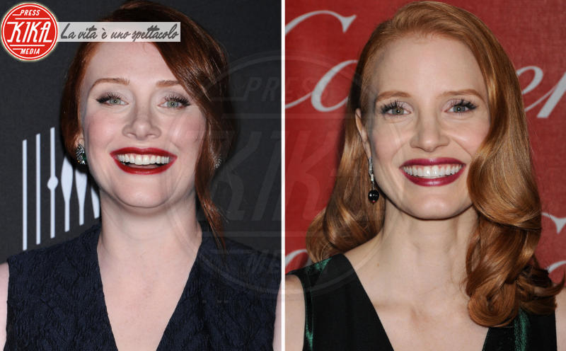 Jessica Chastain, Bryce Dallas Howard - West Hollywood - 15-04-2013 - Maeve o Harley Quinn? Quando le star sembrano clonate