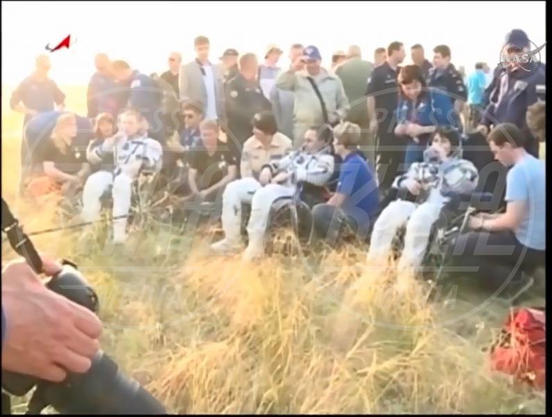 Terry Virts, Samantha Cristoforetti - Kazakistan - Samantha Cristoforetti è tornata sulla Terra