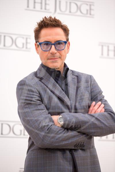 Robert Downey Jr - Roma - 14-10-2014 - Robert Downey Jr. lavora a una serie tv su Perry Mason