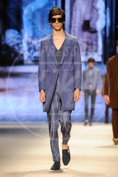 Modello - Milano - 22-06-2015 - Milano Moda Uomo: fan in delirio, sfila Lucky Blue Smith