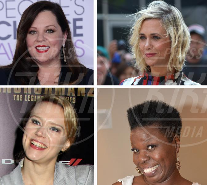 Leslie Jones, Kate McKinnon, Kristen Wiig, Melissa McCarthy - Los Angeles - 28-01-2015 - Ghostbusters in rosa: ci sarà anche un protagonista del 1984