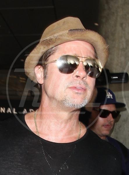 Brad Pitt - Los Angeles - 31-07-2015 - Brad Pitt, la polizia continua a indagare per maltrattamenti