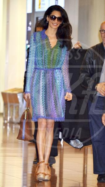 Amal Alamuddin - Tokyo - 24-05-2015 - Amal Clooney si è lasciata il sorriso alle spalle...