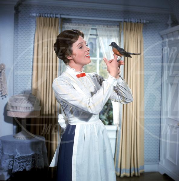 Mary Poppins, Julie Andrews - Hollywood - 27-09-1964 - Emily Blunt sarà la nuova Mary Poppins nel sequel della Disney