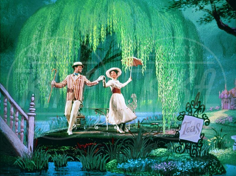 Mary Poppins, Dick Van Dyke, Julie Andrews - Hollywood - 27-09-1964 - Emily Blunt sarà la nuova Mary Poppins nel sequel della Disney