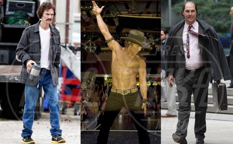 Matthew McConaughey - 06-10-2015 - La riconoscete? Trasformismo, croce e delizia dei veri divi
