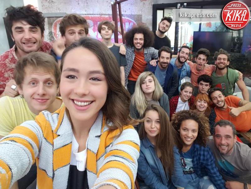 Aurora Ramazzotti - Milano - 23-10-2015 - X Factor Daily: Aurora Ramazzotti al debutto sul piccolo schermo