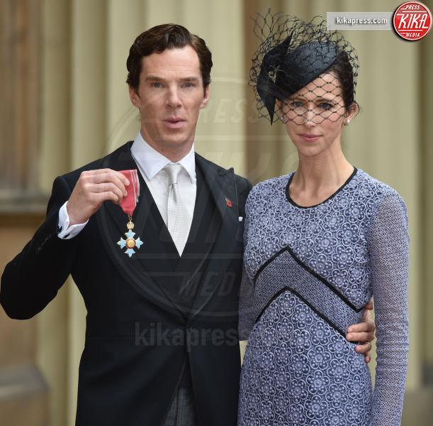 Sophie Hunter, Benedict Cumberbatch - Londra - 11-11-2015 - Benedict Cumberbacth due volte papà, è nato Hal Auden