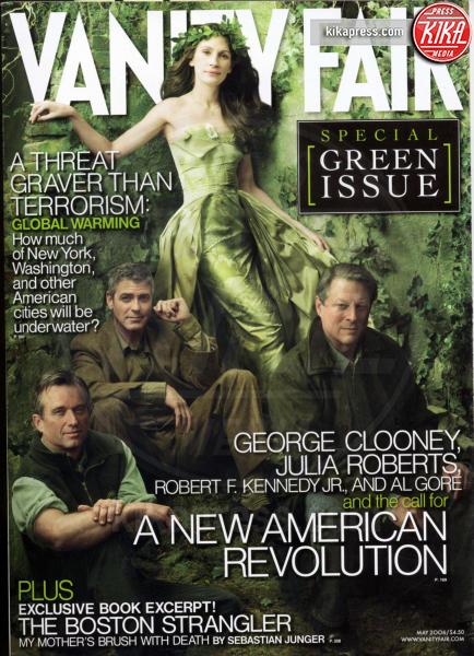 George Clooney, Julia Roberts - New York - 01-05-2006 - Annie Leibovitz, una carriera da copertina