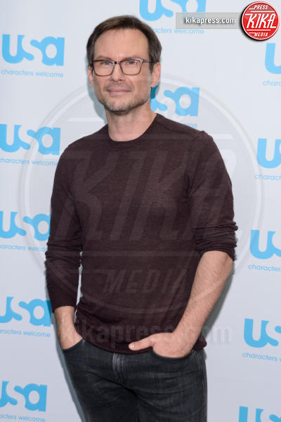 Christian Slater - New York - 10-10-2015 - Mr Robot, dal 3 marzo in tv su Mediaset Premium
