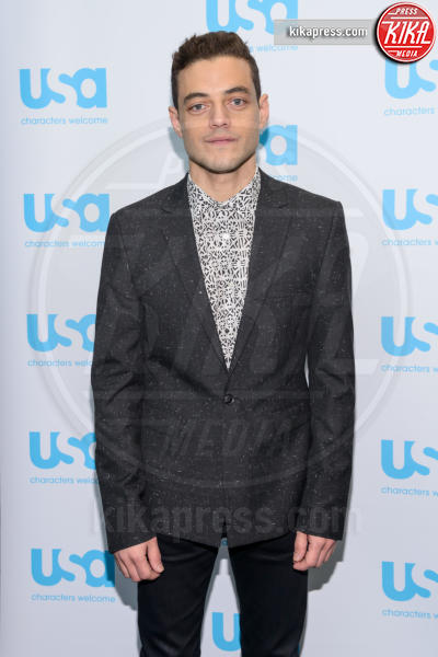 Rami Malek - New York - 10-10-2015 - Mr Robot, dal 3 marzo in tv su Mediaset Premium