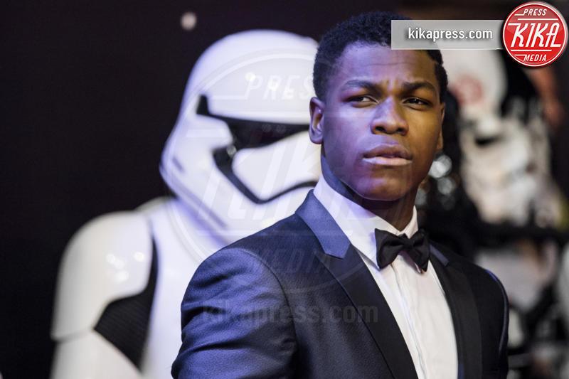John Boyega - Londra - 16-12-2015 - Star Wars 8: nel cast anche Benicio Del Toro e Laura Dern