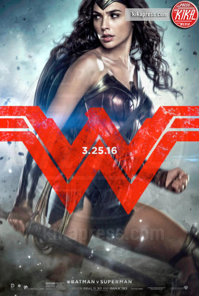 Wonder woman - 17-12-2015 - Batman V Superman: Dawn of Justice, i primi poster