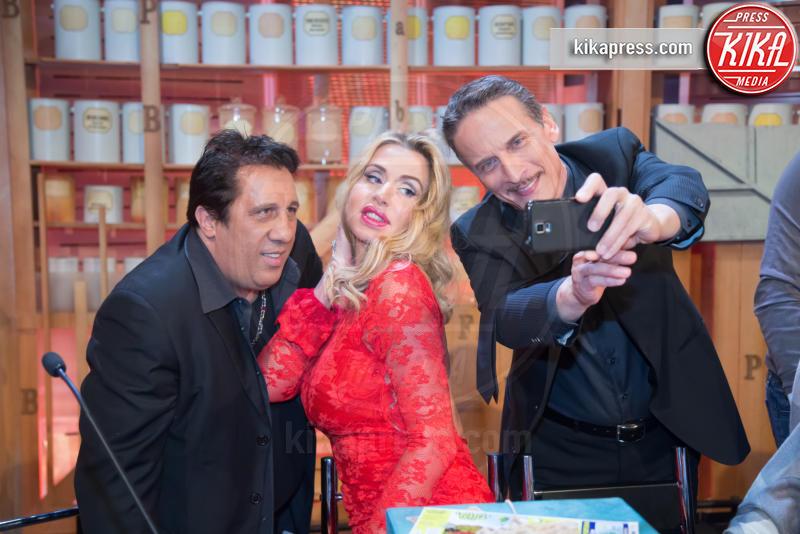 Angelo Russo, Cesare Bocci, Valeria Marini - Roma - 07-01-2016 - Lotteria Italia: a Veronella il primo premio da 5 milioni