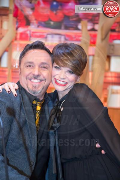Gabriele Cirilli, Alessandra Amoroso - Roma - 07-01-2016 - Lotteria Italia: a Veronella il primo premio da 5 milioni