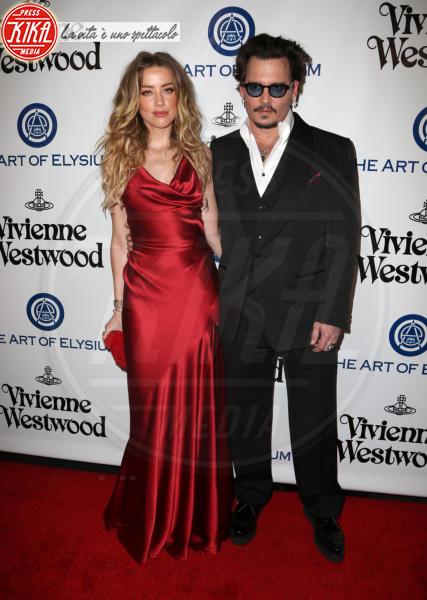 Amber Heard, Johnny Depp - Los Angeles - 10-01-2016 - L'amore non ha età... specialmente nello showbiz!