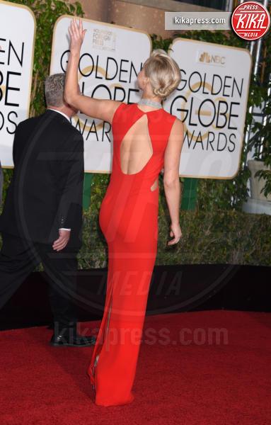 Jennifer Lawrence - Beverly Hills - 10-01-2016 - Golden Globe 2016: le dive fronte e retro