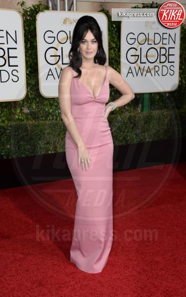 Katy Perry - Los Angeles - 10-01-2016 - Golden Globe 2016: le dive fronte e retro