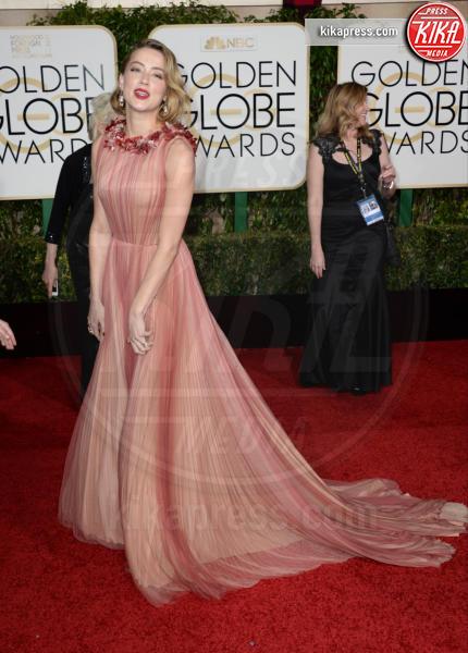 2016 -, Amber Heard - Los Angeles - 10-01-2016 - Golden Globe 2016: le dive fronte e retro