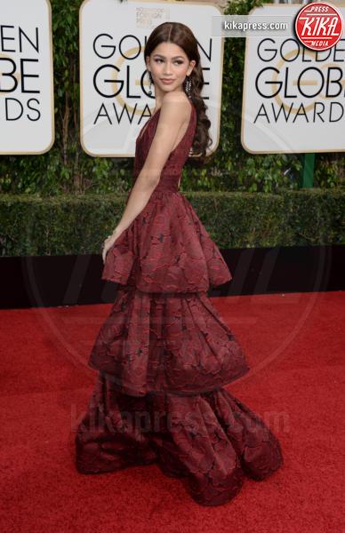 Zendaya Coleman - Los Angeles - 10-01-2016 - Golden Globe 2016: le dive fronte e retro