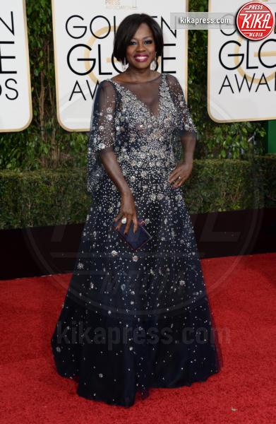 Viola Davis - Los Angeles - 10-01-2016 - Golden Globe 2016: le dive fronte e retro
