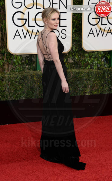 Kirsten Dunst - Los Angeles - 10-01-2016 - Golden Globe 2016: le dive fronte e retro
