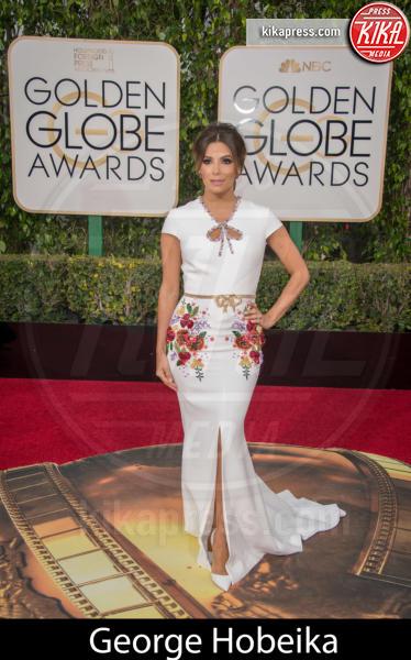 Eva Longoria - Beverly Hills - 10-01-2016 - Golden Globe 2016: gli stilisti sul red carpet