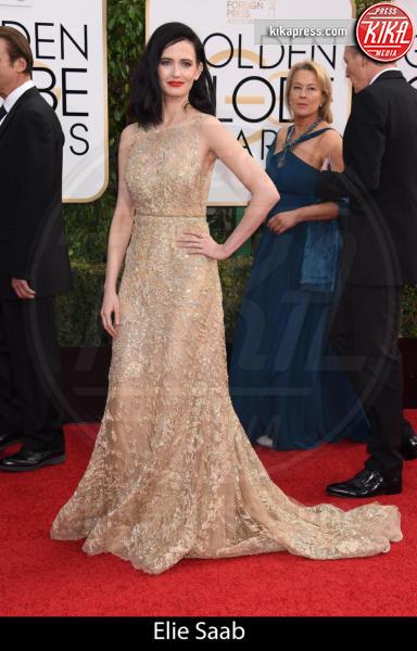 Eva Green - Beverly Hills - 10-01-2016 - Golden Globe 2016: gli stilisti sul red carpet