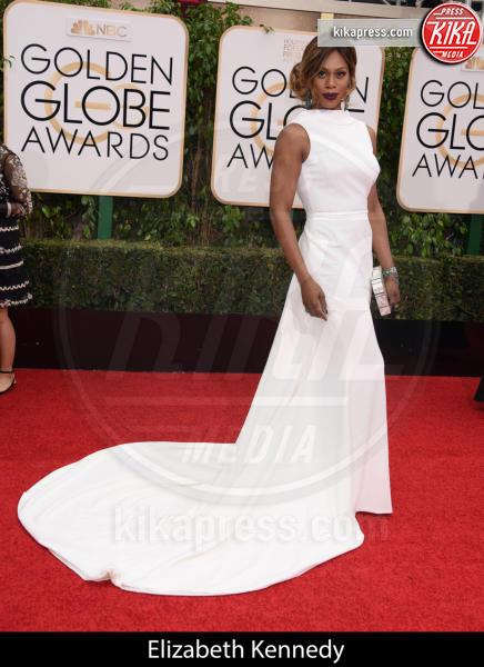 Laverne Cox - Beverly Hills - 10-01-2016 - Golden Globe 2016: gli stilisti sul red carpet
