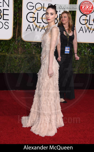 Rooney Mara - Beverly Hills - 10-01-2016 - Golden Globe 2016: gli stilisti sul red carpet