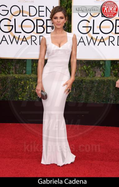 Maria Menounos - Beverly Hills - 10-01-2016 - Golden Globe 2016: gli stilisti sul red carpet