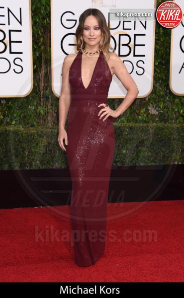 Olivia Wilde - Beverly Hills - 10-01-2016 - Golden Globe 2016: gli stilisti sul red carpet