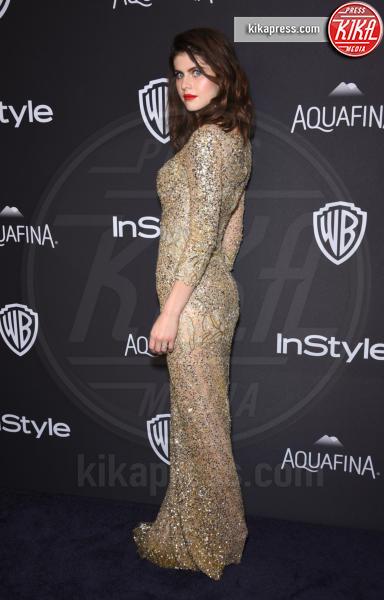 Alexandra Daddario - Beverly Hills - 10-01-2016 - Golden Globe 2016: le dive fronte e retro
