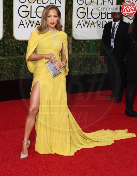 Jennifer Lopez - Los Angeles - 10-01-2016 - Golden Globe 2016: le dive fronte e retro