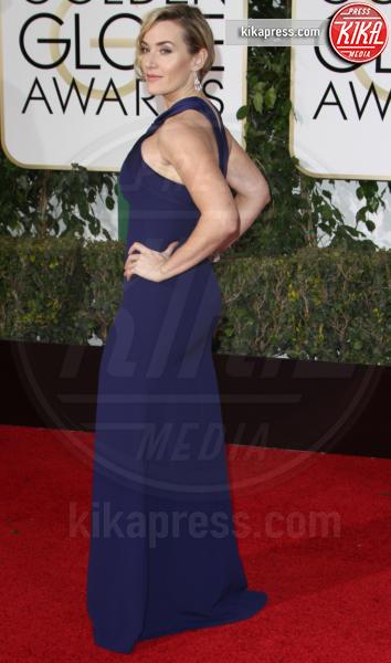 Kate Winslet - Los Angeles - 10-01-2016 - Golden Globe 2016: le dive fronte e retro