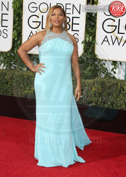 Queen Latifah - Los Angeles - 10-01-2016 - Golden Globe 2016: le dive fronte e retro