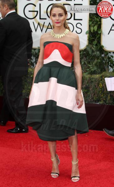 Olivia Palermo - Los Angeles - 10-01-2016 - Golden Globe 2016: le dive fronte e retro