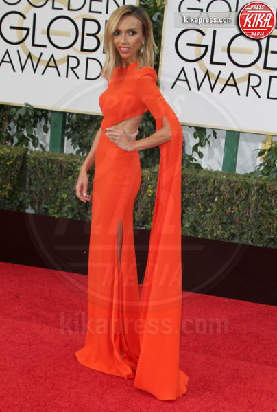 Giuliana Rancic - Los Angeles - 10-01-2016 - Golden Globe 2016: le dive fronte e retro